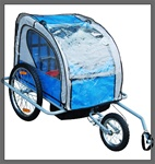 2in1 Baby Trailer Rain Cover