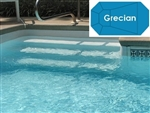 Complete 16'x32' Grecian InGround Swimming Pool Kit with Polymer Supports