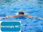 Complete 16'x32' Rectangle 4RC In Ground Swimming Pool Kit with Polymer Supports
