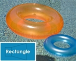 Complete 16'x32' Rectangle InGround Swimming Pool Kit with Wood Supports