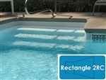 Complete 16'x36' Rectangle 2RC InGround Swimming Pool Kit with Wood Supports