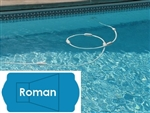 Complete 16'x37' Roman InGround Swimming Pool Kit with Wood Supports