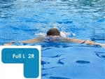 Complete 16x38x24 Full L 2R In Ground Swimming Pool Kit with Wood Supports