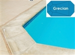 Complete 18'x36' Grecian InGround Swimming Pool Kit with Steel Supports