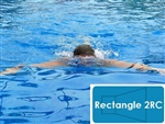 Complete 18'x36' Rectangle 2RC In Ground Swimming Pool Kit with Steel Supports