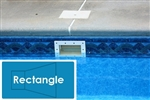 Complete 18'x36' Rectangle InGround Swimming Pool Kit with Polymer Supports
