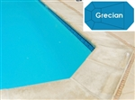 Complete 19'x41' Grecian In Ground Swimming Pool Kit with Polymer Supports