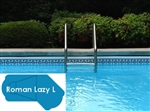 Complete 20'x49' Roman Lazy L  InGround Swimming Pool Kit with Wood Supports