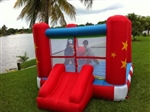 Medium Boxing Ring Bounce House Bouncy House with Blower