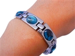 Turquoise Stone with Germanium Energy Bracelet - 2pk