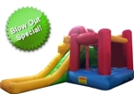 Huge 15' x 10' Inflatable Water Park with Tons of Activities
