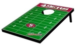 Brand New San Francisco 49ers Tailgate Toss Bean Bag Game - Officially Licensed