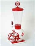 Brand New University of Nebraska Cornhuskers College Beverage Dispenser - Officially Licensed