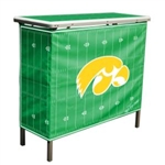 Brand New Iowa Hawkeyes High Top Tailgate Table