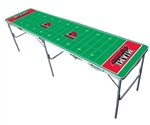 Brand New Miami University of Ohio Redhawks 2' x 8' Tailgate Table - Officially Licensed