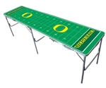 Brand New Oregon Ducks  2' x 8' Tailgate Table - Officially Licensed