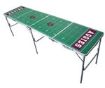 Brand New Texas A&M University Aggies 2' x 8' Tailgate Table - Officially Licensed