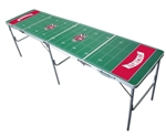 Brand New Wisconsin Badgers  2' x 8' Tailgate Table - Officially Licensed