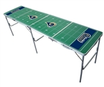 Brand New St. Louis Rams 2' x 8' Tailgate Table - Officially Licensed
