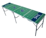 Brand New Tennessee Titans 2' x 8' Tailgate Table - Officially Licensed