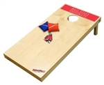 Brand New Ball State University Cardinals Tailgate Toss XL Platinum Edition Bean Bag Game - Officially Licensed
