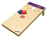 Brand New Clemson University Tigers Tailgate Toss XL Platinum Edition Bean Bag Game - Officially Licensed