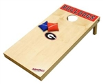 Brand New University of Georgia Bulldogs Tailgate Toss XL Platinum Edition Bean Bag Game - Officially Licensed