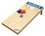 Brand New University of Kansas Jayhawks Tailgate Toss XL Platinum Edition Bean Bag Game - Officially Licensed