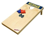 Brand New University of Michigan Wolverines Tailgate Toss XL Platinum Edition Bean Bag Game - Officially Licensed