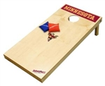 Brand New University of Minnesota Golden Gophers Tailgate Toss XL Platinum Edition Bean Bag Game - Officially Licensed
