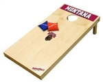 Brand New University of Montana Grizzlies Tailgate Toss XL Platinum Edition Bean Bag Game - Officially Licensed