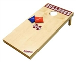 Brand New Mississippi State University Bulldogs Tailgate Toss XL Platinum Edition Bean Bag Game - Officially Licensed