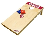 Brand New University of Oklahoma Sooners Tailgate Toss XL Platinum Edition Bean Bag Game - Officially Licensed