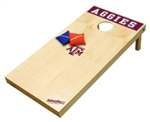 Brand New Texas A&M University Aggies Tailgate Toss XL Platinum Edition Bean Bag Game - Officially Licensed