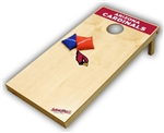 Brand New Arizona Cardinals Tailgate Toss XL Platinum Edition Bean Bag Game - Officially Licensed