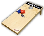 Brand New Baltimore Ravens Tailgate Toss XL Platinum Edition Bean Bag Game - Officially Licensed