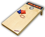 Brand New Chicago Bears Tailgate Toss XL Platinum Edition Bean Bag Game - Officially Licensed