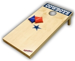 Brand New Dallas Cowboys Tailgate Toss XL Platinum Edition Bean Bag Game - Officially Licensed