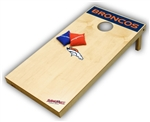 Brand New Denver Broncos Tailgate Toss XL Platinum Edition Bean Bag Game - Officially Licensed
