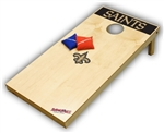 Officially Licensed New Orleans Saints Tailgate Toss XL Platinum Edition Bean Bag Game - Brand New