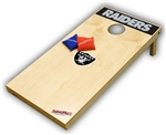Officially Licensed Oakland Raiders Tailgate Toss XL Platinum Edition Bean Bag Game - Brand New