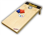 Brand New Pittsburgh Steelers Tailgate Toss XL Platinum Edition Bean Bag Game - Officially Licensed