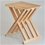 wooden folding bench chair