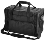Professional Black Soft Comestic Makeup Train Case/Bag