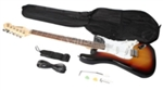 Rosewood 39'' Inch Cutaway Hardwood Fingerboard Electric Guitar White Red