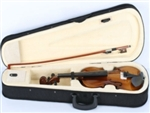 1/4 Natural Acoustic Violin With Case Bow and Rosin