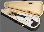 Spruce 4/4 Acoustic Violin White Maple Wood High Quality