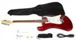 Cutaway Rosewood 39'' Inch Fingerboard Electric Guitar Red