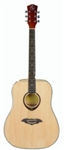 Full Size Acoustic Guitar ABS Wood Grain