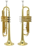 Bb Trumpet Gold with Mouthpiece and Case